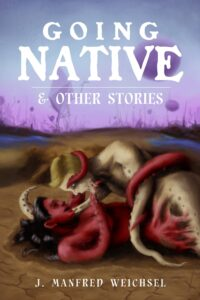 Going Native Cover of man and woman melting into each other